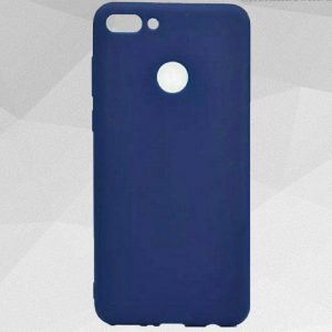 Матовый силиконовый TPU чехол Soft Touch на Y6 Prime 2018 / Honor 7A Pro / Honor 7C (Navy Blue)