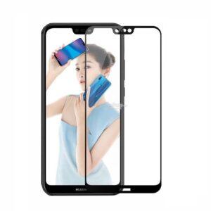 Защитное стекло 3D (5D) Full Glue Armor Glass на весь экран для Huawei P20 Pro – Black