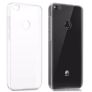 Прозрачный силиконовый (TPU) чехол (накладка) для Huawei P8 Lite / Nova Lite 2017