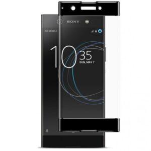 Защитное стекло 3D Full Cover для Sony XA1 / XA1 Dual на весь экран – Black