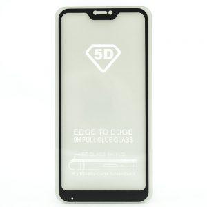 Защитное стекло 5D Full Glue Cover Glass на весь экран для Xiaomi Redmi 6 Pro / Mi A2 Lite — Black