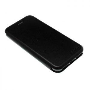 Кожаный чехол-книжка Aspor (экокожа + TPU) для Iphone 7 /8 (Black)