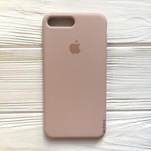 Оригинальный чехол Silicone Case с микрофиброй для Iphone 7 Plus / 8 Plus №8 (Powder)