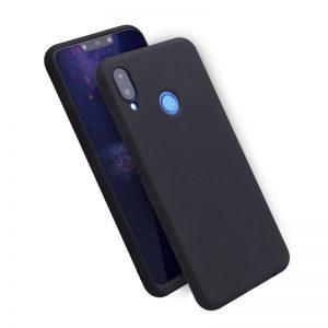 Матовый силиконовый TPU чехол на Huawei Honor 8x / Y9 2019 (Black)