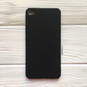 Черный пластиковый чехол (накладка) Joyroom с защитой торцов для Meizu U20 (Black)