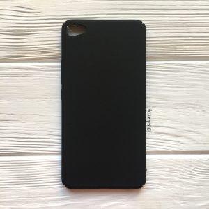 Пластиковый чехол (накладка) Joyroom с защитой торцов для Meizu U20 (Black)