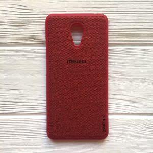 Силиконовый (TPU) чехол (накладка) для Meizu M3 Note (Red)