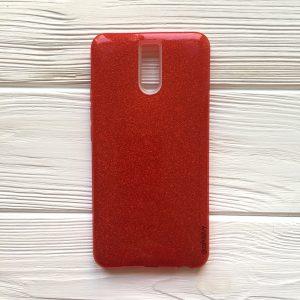 Силиконовый TPU+PC чехол Shine для Meizu M6 Note (Красный)