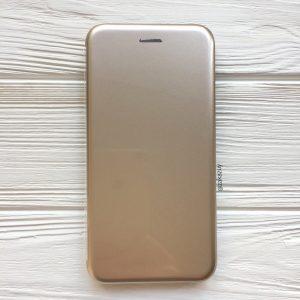 Золотой глянцевый чехол-книжка (TPU+PC) для Xiaomi Redmi 6 Pro / Mi A2 Lite (Gold)