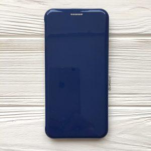 Глянцевый чехол-книжка (TPU+PC) для Xiaomi Redmi 6 Pro / Mi A2 Lite (Dark Blue)