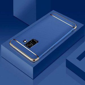 Матовый пластиковый чехол Joint Series для Samsung Galaxy A6 2018 (Blue)