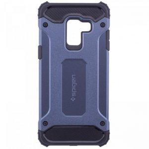 Противоударный бронированный чехол Spigen  для Samsung Galaxy A6 2018 (Blue)
