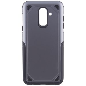 TPU+PC чехол Deen Streamline для Samsung A605 Galaxy A6 Plus (2018) Grey