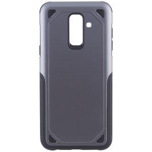 Противоударный TPU+PC чехол Deen Streamline для Samsung A605 Galaxy A6 Plus (2018) Grey