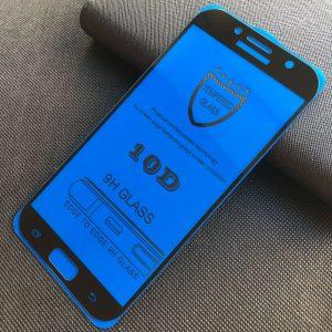 Защитное стекло 10D Full Glue Cover Glass на весь экран для Samsung Galaxy A7 2017 (A720) – Black