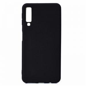Матовый силиконовый TPU чехол Samsung A750 Galaxy A7 (2018) Black