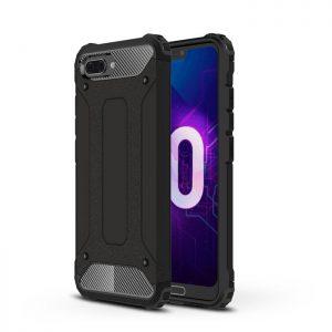 Черный противоударный (ударопрочный) чехол (бампер) TPU+PC для Huawei Honor 10 (Black)