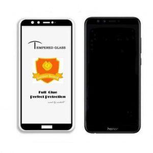 Защитное стекло 4D Full Glue (на весь экран) для Huawei Honor 9 Lite (BLack)