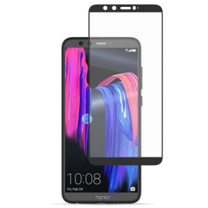 Защитное стекло 3D (5D) Full Glue Armor Glass на весь экран для Huawei Honor 9 Lite — Black