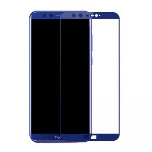 Защитное стекло 3D (5D) Full Glue Armor Glass на весь экран для Huawei Honor 9 Lite – Blue