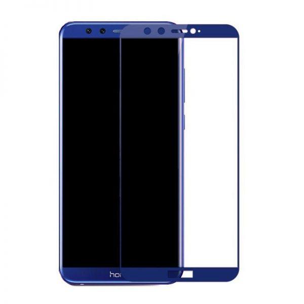 Защитное стекло 3D Full Glue (на весь экран) для Huawei Honor 9 Lite (Blue)
