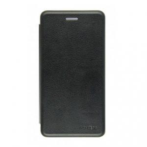 Черный чехол-книжка (экокожа) для Huawei Honor 7x (Black)