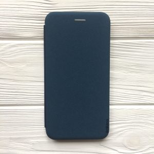 Чехол-книжка Inavi (экокожа + TPU) для Xiaomi Redmi 6 Pro / A2 Lite (Синий)