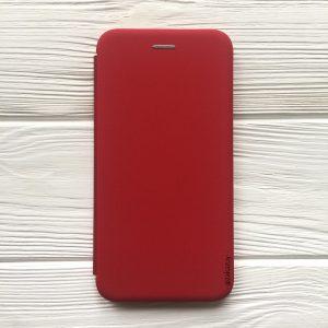 Красный чехол-книжка Inavi (экокожа + TPU) для Meizu M6T (Red)