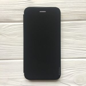 Чехол-книжка Inavi (экокожа + TPU) для Huawei Y6 Prime (2018) / Honor 7A Pro / Honor 7C (Black)