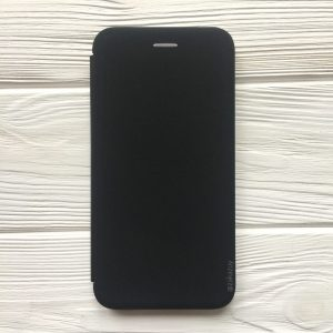 Чехол-книжка Inavi (экокожа + TPU) для Huawei P Smart Plus (Black)