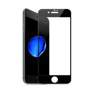 Защитное стекло 4D Full Glue (на весь экран) для Iphone 7 / 8 (Black)