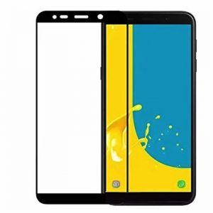 Защитное стекло 3D (5D) Full Glue Armor Glass на весь экран для Samsung Galaxy J4 Plus 2018 (J415) – Black