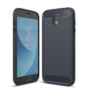 Силиконовый (TPU) чехол – бампер Slim Series для Samsung J530 Galaxy J5 (2017) Blue