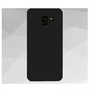 Матовый силиконовый TPU чехол на Samsung Galaxy J6 Plus 2018 (J610) – Черный