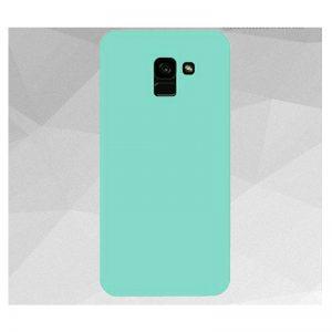 Матовый силиконовый TPU чехол на Samsung Galaxy J6 Plus 2018 (J610) – Зелений