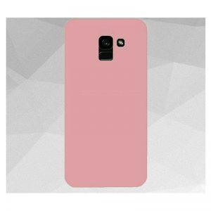 Матовый силиконовый TPU чехол на Samsung Galaxy J6 Plus 2018 (J610) – Розовый