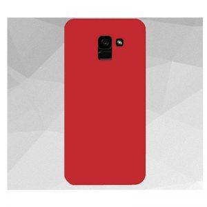 Матовый силиконовый TPU чехол на Samsung Galaxy J6 Plus 2018 (J610) – Красный