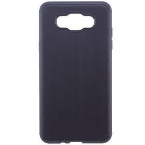 Силиконовый (TPU) чехол – бампер Metal для Samsung J710F Galaxy J7 (2016) Black
