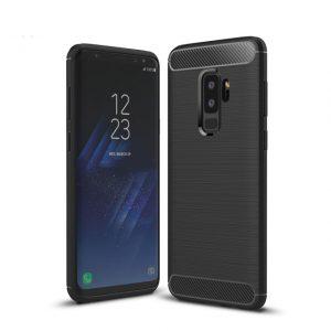 Черный силиконовый (TPU) чехол Slim Series для Samsung Galaxy S9 Plus (Black)