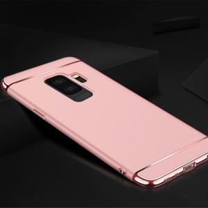 Матовый пластиковый чехол Joint Series  Samsung Galaxy J8 2018 (Rose)