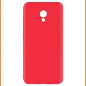 Матовый силиконовый TPU чехол на Meizu M3 Note (Red)