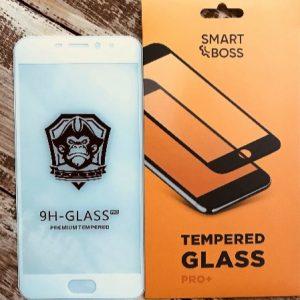 Защитное стекло 3D (5D) Perfect Glass Full Glue на весь экран для Meizu M3 Note – White