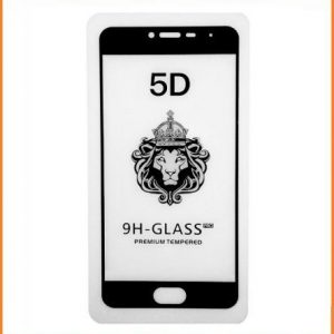 Защитное стекло 3D (5D) Perfect Glass Full Glue на весь экран для Meizu M3s / M3 / M3 mini – Black