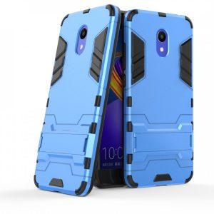 Ударопрочный чехол Transformer с подставкой для Meizu M6 (Blue)