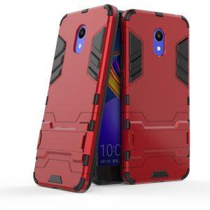 Ударопрочный чехол Transformer с подставкой для Meizu M6 (Red)