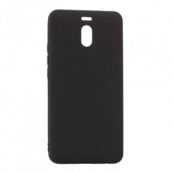Матовый силиконовый (TPU) чехол для Meizu M6 Note (Black)