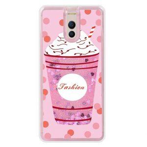 TPU чехол с переливающимися блестками для Meizu M6 Note (Ice cream)