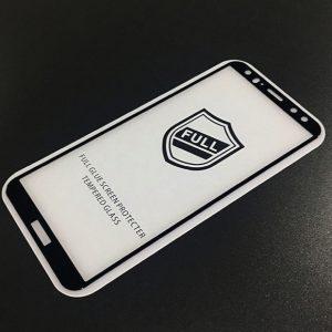 Защитное стекло 3D (5D) Perfect Glass Full Glue на весь экран для Huawei Mate 10 Lite — Black