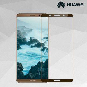 Защитное стекло 3D (5D) Full Glue Armor Glass на весь экран для Huawei Mate 10 Pro – Mocco Gold