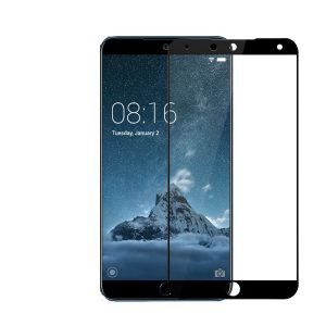 Защитное стекло 2.5D (3D) Full Cover на весь экран для Meizu 15 Plus – Black